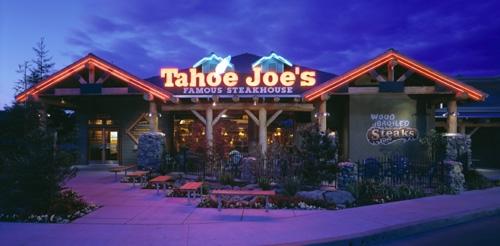 Tahoe Joe's store front